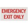 """Emergency Exit Only"""