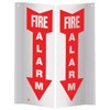 "4x4x12 ""Fire Alarm"" Sign"